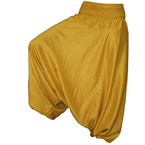 PANASIAM Aladin Pants Plain Gold XL