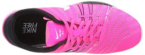 Nike Free Trainer 6, Scarpe Sportive Indoor Donna Rosa (Pink Blast/Black-White)