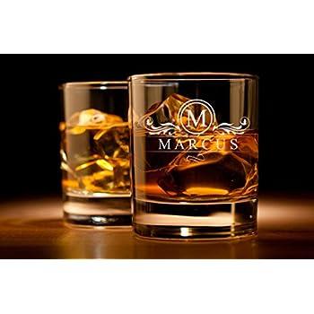 Whiskyglas mit Gravur - Personalisiert mit Namen und Jahreszahl ...