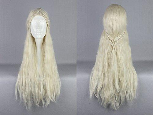 Daenerys Perücke (Ladieshair Cosplay Perücke blond 75cm)
