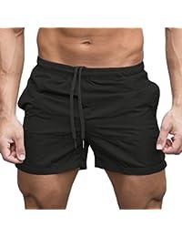 Men s Pants Moonuy Confortable Hommes Gym Casual Sports Jogging Élastique À  La Taille Shorts Pantalon Shorts 589ab52ed81