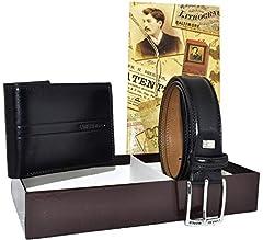Idea Regalo - COVERI, Cofanetto Regalo Uomo, Set Cintura e Portafoglio