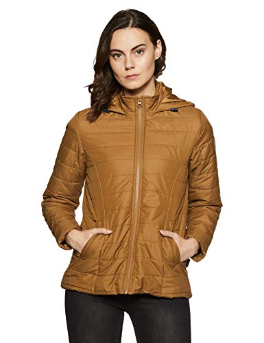 Amazon Brand – Symbol Women's Quilted Hoodie Jacket