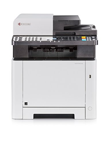Kyocera Ecosys M5521cdw Farblaser Multifunktionsdrucker. Drucker, Kopierer, Scanner, Faxgerät. Inkl. Mobile-Print-Funktion. Amazon Dash Replenishment-Kompatibel