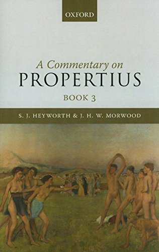 Commentary on Propertius, Book 3 (0)