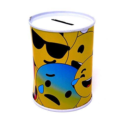 Hucha de metal Smiley XL Emoji Emoticono 5