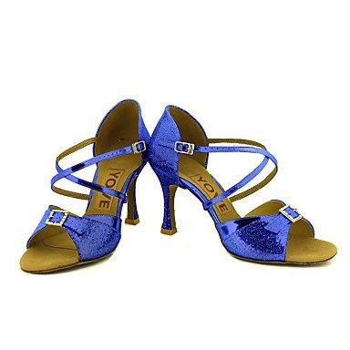 XIAMUO Anpassbare Frauen Beruf Tanz Schuhe Gold