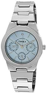 Timex E-Class Analog Blue Dial Women's Watch - J102