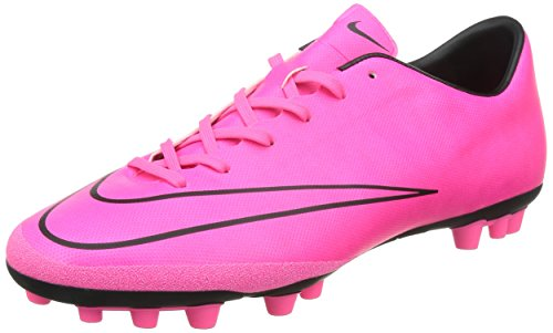Nike Mercurial Victory V Ag-r, chaussures de football homme Rose