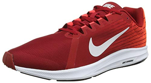 Nike Herren Downshifter 8 Sneakers Mehrfarbig (Gym Red/Vast Grey/Bright Crimson/Black 601) 48.5 EU -