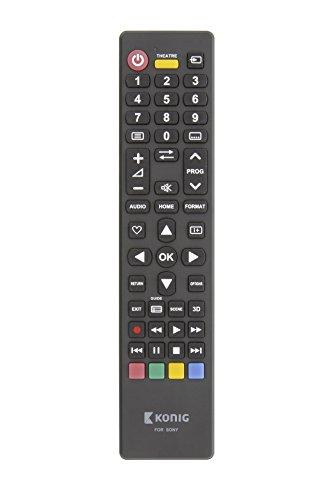 Eurosell Ersatz Fernbedienung für ALLE Sony Fernseher TV Fernseh zb für KD-43X8305C KDL-49WD755 KD-55XE7004 Bravia Smart KD-49XE7004 KDL-49WE755 KD-49XE8005 KDL-32WD757 KD-65XD7505 KDL-32WD755