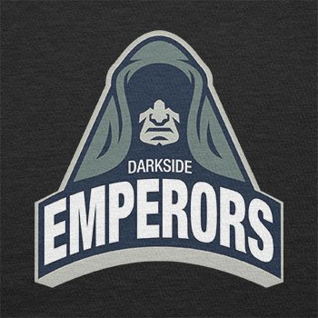 TEXLAB - Darkside Emperors - Herren T-Shirt Schwarz