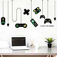 HYY-YY Wall Sticker Playstation Gamepad Decorated Chandelier Wall Stickers, Computer Table Background Stickers