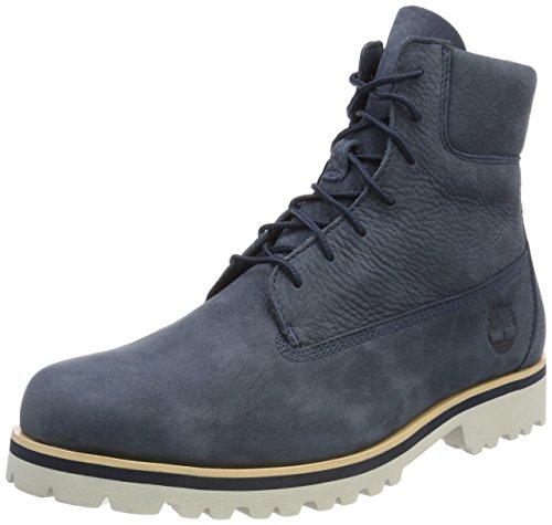 Timberland Herren Chilmark 6 inch Klassische Stiefel, Blau (Midnight Navy Barefoot Buffed 431), 47,5 EU (Midnight Herren-schuhe Navy)