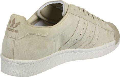 adidas Originals Uomo Scarpa Sportiva, Colore Bianco Sporco, Marca, Modello Uomo Scarpa Sportiva Superstar 80s Bianco Sporco caqui