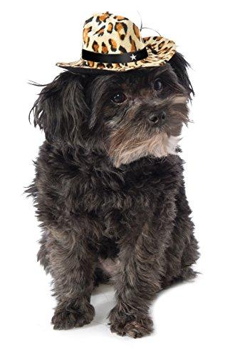 Rubies Costume Leopard Print Cowboy Hat Hund Kostüm