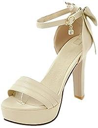 Coolcept Mujer Correa de Tobillo Sandalias  Zapatos de moda en línea Obtenga el mejor descuento de venta caliente-Descuento más grande