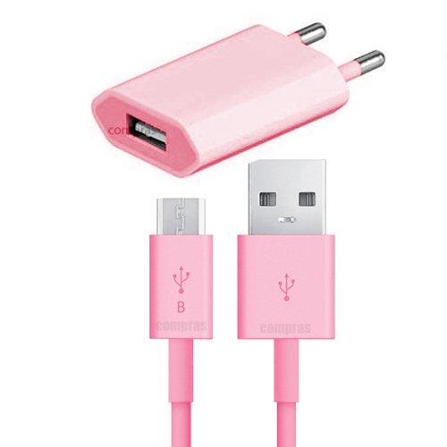 USB Ladegerät Datenkabel Ladekabel Netzteil ROSA HTC ONE M7 Original q1