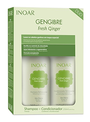 INOAR Duo Gengibre Shampoo and Conditioner Kit 250 ml