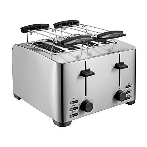 Aishankra T30 Tostadora Inicio Automático Sandwich Máquina Multifunción Desayuno Máquina Tostadora, Calefacción, Descongelación, Cocción