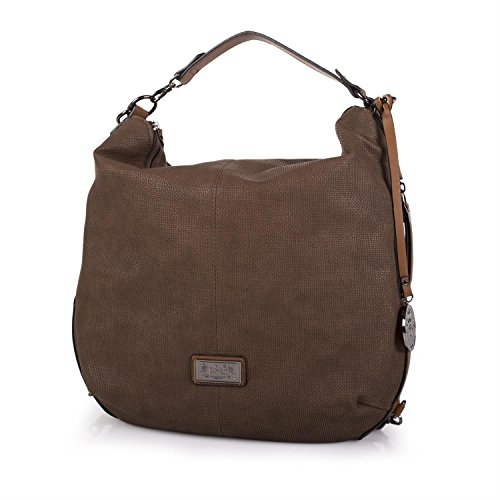 LOIS - 22770 BOLSO MOCHILA POLIPIEL ARIZONA, Color Marron