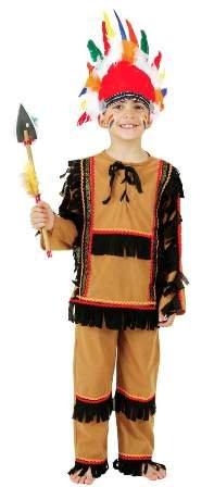 Faschingskostüm Kinder Indianer Comanche Gr. (Kostüme Comanche)