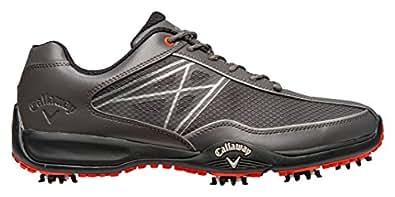 Callaway Chev Oxygen, Chaussures de Golf  homme, Gris (Grey/Orange), 42