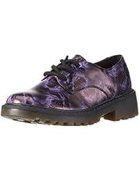 Geox J Casey Girl M, Zapatos de Cordones Derby para Niñas