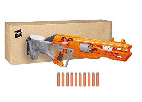 "Nerf B7784F030, blaster \""N-Strike Elite Accustrike Series Alphahawk\"""