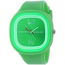 RADAR Watches Unisex AGGRN-0004 The Agent Interchangeable Silicone Analog Watch