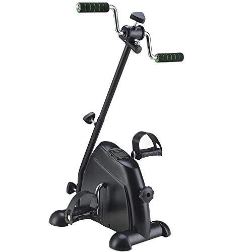 AFDK Pedal-Trainingsgerät mit LCD-Monitor, Reha-Fahrrad-Pedal-Trainer für Handicap, Behinderte und Schlaganfall-Überlebende