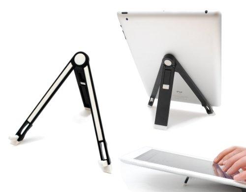 Ultraleicht Tablet PC und Netbook Ständer, Tischständer passend für iPad 1 & 2, Galaxy Tab, Motorola Xoom, LG Optimus Pad, HTC Flyer, Acer Iconia, Acer Iconia, Asus Eee Slate, Archos 10.1, HP Touchpad, Toshiba Folio, Macbook Air