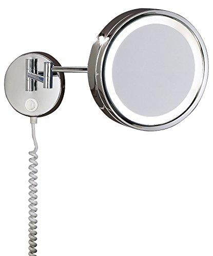 Trio-282670106-Specchio-LED-da-Parete-Comune-Cromo