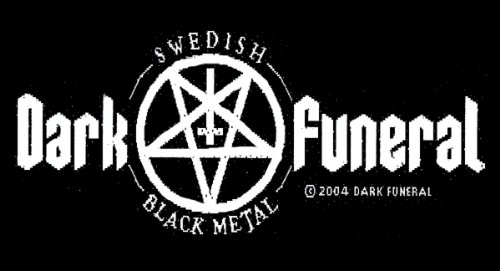 DARK FUNERAL    SWEDISH BLACK METAL     Patch