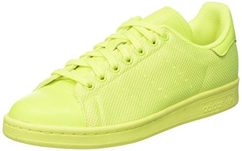 adidas Stan Smith Scarpe da Ginnastica Basse Uomo, Giallo Solar Yellow, 42 EU