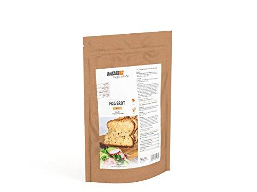 4-Pack: hCG-Low Carb Brotbackmischung erstes Brot für hCG strenge Phase geeignet (WHITE)