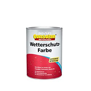 Consolan Profi Wetterschutzfarbe RM 204 rotbraun 2,5 Liter