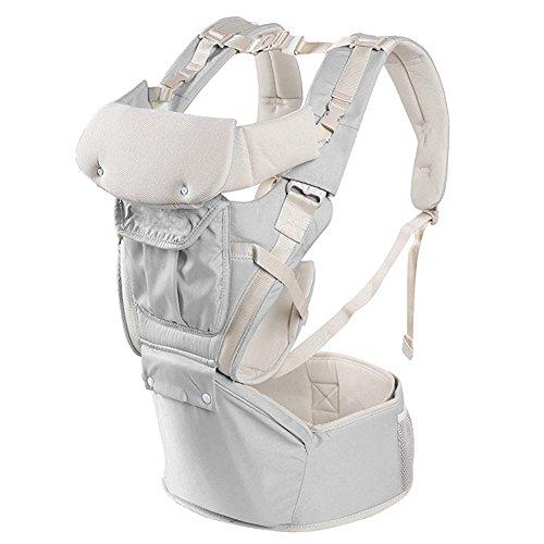 Candora ™ Porte-bébé ergonomique pour nourrissons et les tout-petits 3  positions de 63477fbdab9
