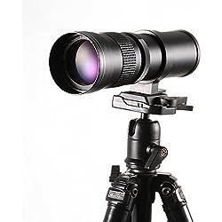 Ruili 420-800mm f/8.3-16Super téléobjectif Zoom téléobjectif Zoom Lentille Vario