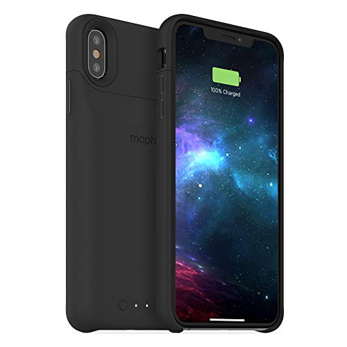 mophie Juice Pack Kabellose Ladehülle für iPhone XS Max Schwarz (Case Juice Mophie Pack)