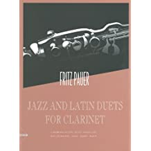 ADVANCE MUSIC PAUER FRITZ - JAZZ AND LATIN DUETS FOR CLARINET Partition jazz&blue Bois Clarinette