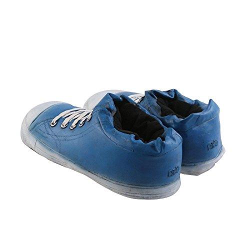 Tierhausschuhe KULT Hausschuhe Riesen Turnschuhe GAMMELIG Schlappen Pantoffel Puschen hochwertig 35-46, THULS Blau