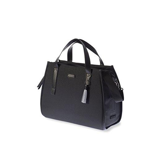 Basil Unisex- Erwachsene Noir Business Fahrradtasche, Black, 41 cm x 17 cm x 32 cm