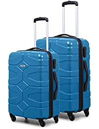 e36a0bf2ee3 Novex Polycarbonate Hard Luggage Pack of 2 (24 inches and 20 inches)  Trolley suitcase