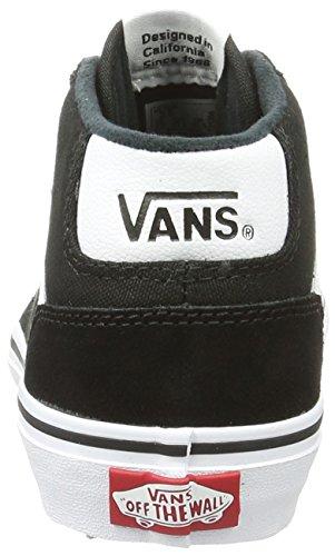 Vans Yt Chapman Mid, Sneakers Hautes Garçon Noir (Suede/canvas)