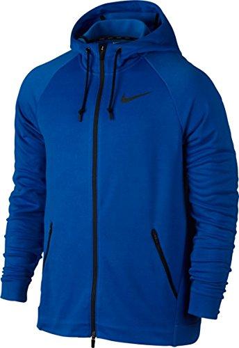 Nike Hyper M NK Dry FZ FLC, Sweatshirt Blau (paramount blue / black)