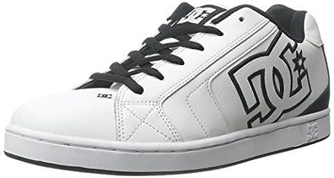 DC Net, Herren Skateboarden , Weiß - Weiß - Größe: 39.5
