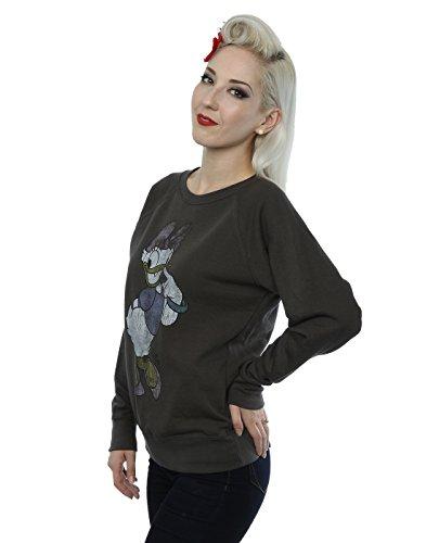 Disney Damen Classic Daisy Duck Sweatshirt Licht Graphite