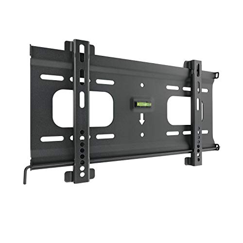 TooQ LP4037F-B - Soporte fijo de pared para monitor/TV/LED de 23