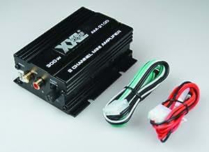mini amplificateur autoradio 2 x 25w 2 canaux 12 volts